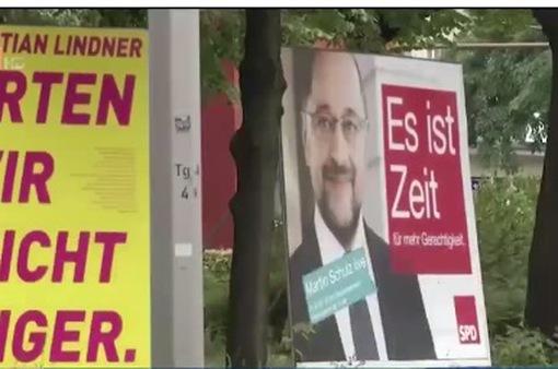 62 triệu cử tri Đức đi bầu cử Quốc hội