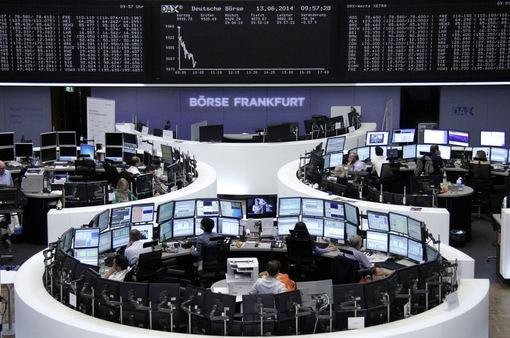 Chứng khoán châu Âu giảm điểm trước quyết định của ECB