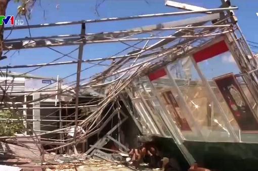Miễn giảm lãi vay đối với hộ bị thiệt hại do bão số 10