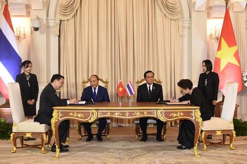 Việt Nam và Thái Lan ký Hiệp định về hợp tác khoa học, công nghệ và đổi mới sáng tạo