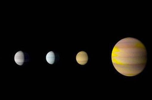 Phát hiện hệ sao giống hệ Mặt Trời