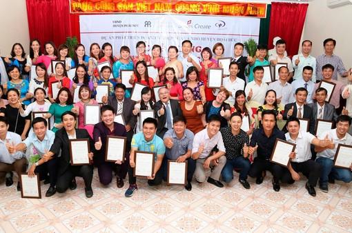 13.000 chủ doanh nghiệp, hộ SXKD và nhân viên được đào tạo