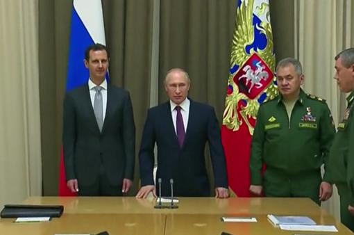 Tổng thống Putin và Assad hội đàm, bàn về tương lai của Syria