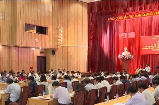 Hội thảo góp ý dự thảo Đề án đổi mới phương thức lãnh đạo của Đảng