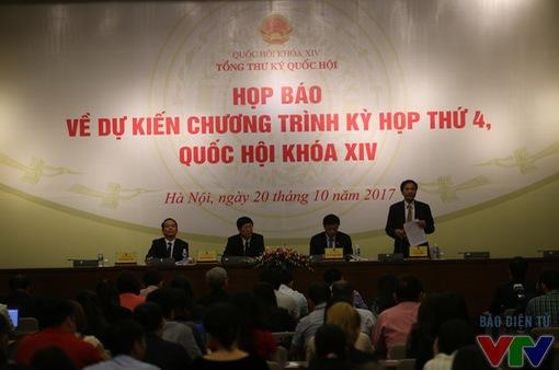 Kỳ họp thứ 4, Quốc hội khóa XIV: Sẽ phê chuẩn việc bổ nhiệm đối với một số chức danh