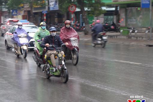 Bắc Bộ trời mát, Nam Bộ mưa dông cục bộ về chiều