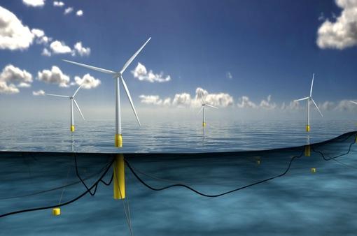 Cối xay gió nổi trên biển đầu tiên trên thế giới