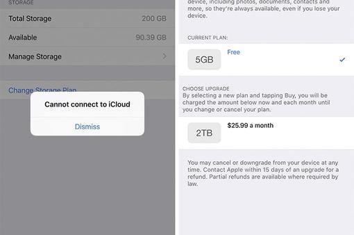 Apple gửi email xin lỗi khách hàng vì sự cố iCloud