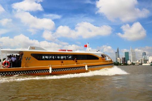 Ngày 25/11, tuyến bus đường sông chính thức vận hành