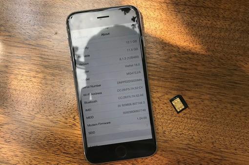 """Đã có sim ghép """"thần thánh"""" phiên bản mới cho iPhone lock"""