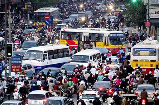 Cấm xe tải, xe kinh doanh trên một số tuyến phố trong những ngày cao điểm dịp Tết