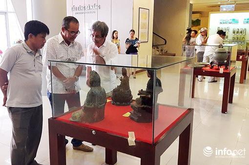 Đà Nẵng: Tổ chức triển lãm cổ vật từ thế kỷ thứ VII - XIX
