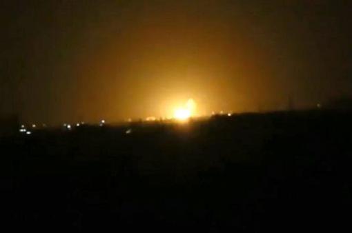 Tên lửa của Israel bắn hạ mục tiêu trên không