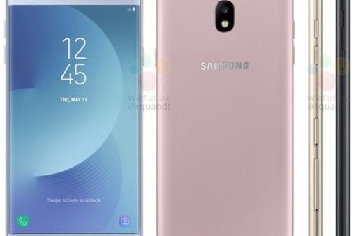 Galaxy J7 phiên bản 2017 sẽ có diện mạo và màu sắc mới