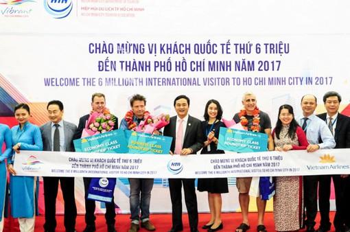 TP.HCM đón vị khách quốc tế thứ 6 triệu
