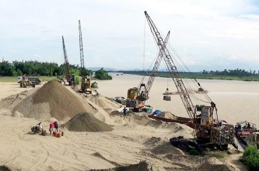 Bến Tre tăng cường quản lý khai thác cát