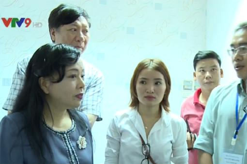 Bộ trưởng Bộ Y tế kiểm tra các cơ sở y tế tư nhân tại TP.HCM