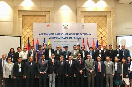 Hội thảo ASEAN - Ấn Độ về kinh tế biển xanh: Từ khái niệm đến hành động