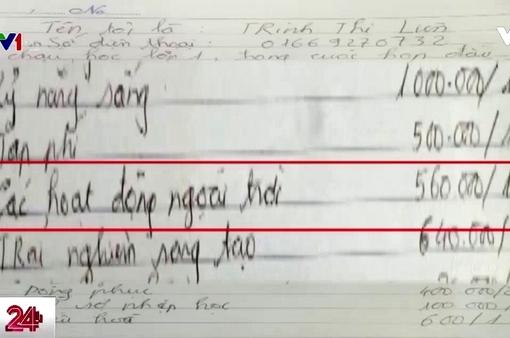 Hiệu trưởng ở Hải Phòng bị tố lạm thu đã viết đơn xin ra khỏi ngành