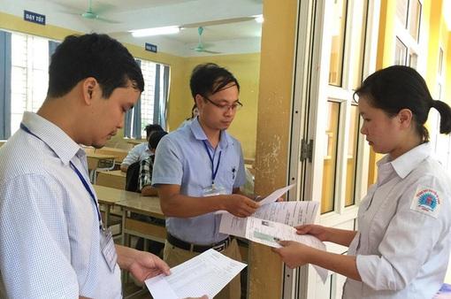 Thi THPT Quốc gia 2017: 0,5 - 1,6% thí sinh bỏ thi tại miền Trung - Tây Nguyên