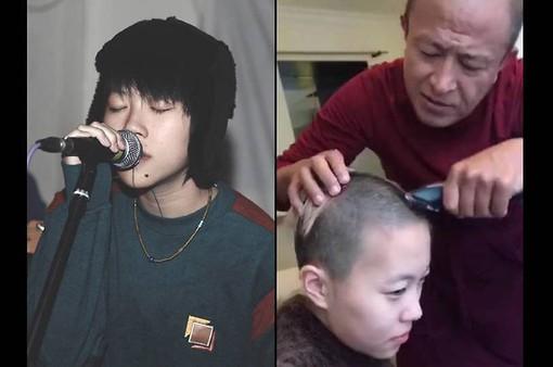 Con gái Vương Phi cạo đầu nhưng không đi tu