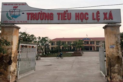 Khởi tố, bắt tạm giam hiệu trưởng lạm thu tại Hưng Yên