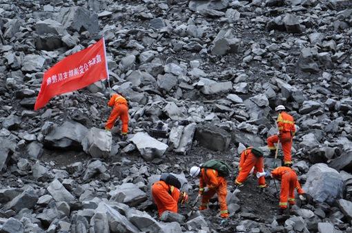 Lở đất ở Trung Quốc: 15 người thiệt mạng, 120 người mất tích