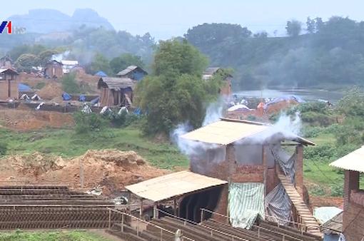 Khó xóa bỏ lò gạch thủ công ở Tuyên Quang