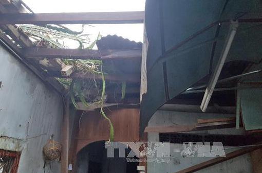 Lâm Đồng: Lốc xoáy khiến 4 người bị thương, hơn 20 căn nhà bị tốc mái