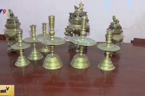 Liên tiếp bắt các đối tượng trộm lư đồng ở Vĩnh Long