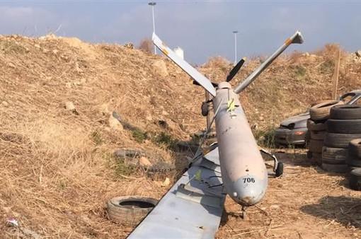 Máy bay không người lái Israel rơi tại Liban