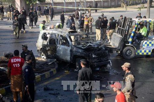 Đánh bom liều chết tại Pakistan, một quan chức cảnh sát cấp cao thiệt mạng