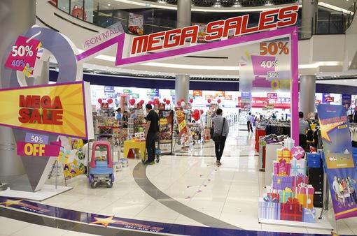 """Người dân Hà thành """"ăn chơi"""" hết cỡ với Mega Sales tại AEON MALL Long Biên"""