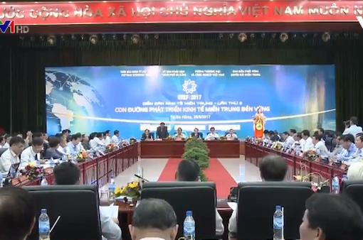 Phát triển bền vững kinh tế miền Trung