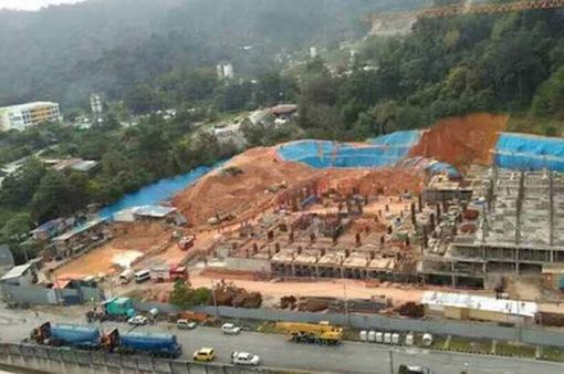 Lở đất tại công trường ở Malaysia, 3 công nhân thiệt mạng