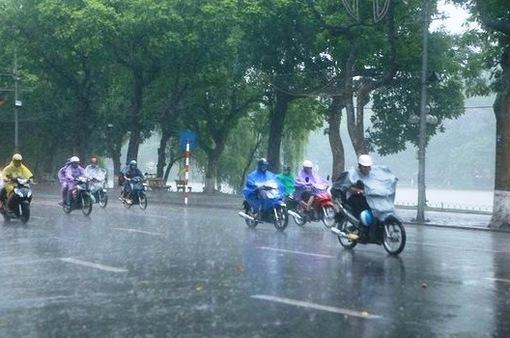Miền Bắc tiếp tục có mưa trên diện rộng