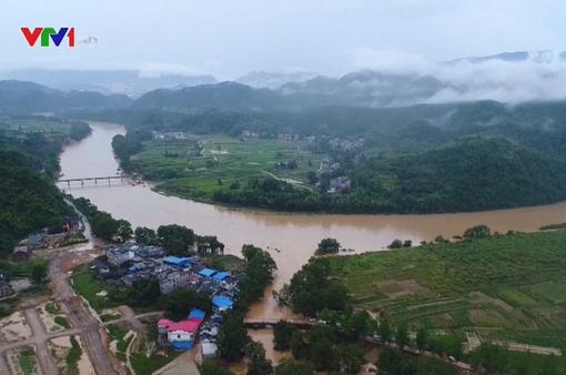 Mưa lớn hoành hành tại các tỉnh phía Nam Trung Quốc
