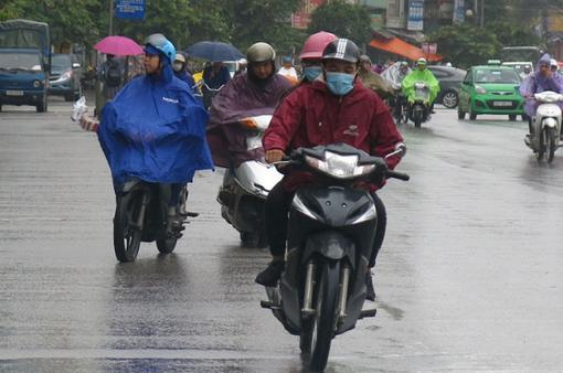 Không khí lạnh tăng cường mạnh, mưa gia tăng ở nhiều tỉnh, thành