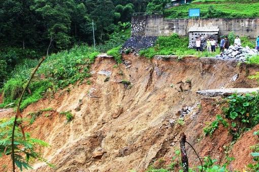 Người dân Hà Giang gặp khó khăn sau mưa lũ