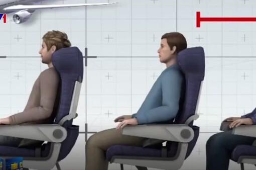 Ghế máy bay tại Mỹ ngày càng bé - Vì sao?