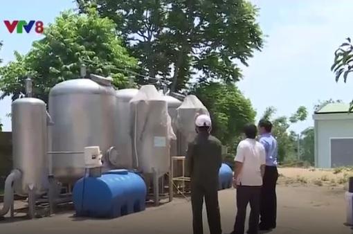 Quảng Trị: Đảm bảo nước sinh hoạt cho người dân mùa nắng nóng