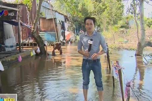 Ngập nước nước kéo dài tại Kiên Giang