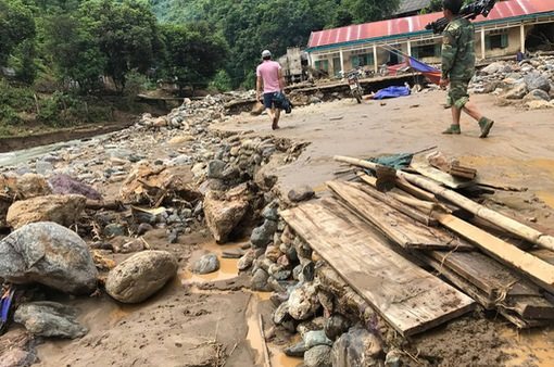 Nguy cơ cao xảy ra lũ quét, sạt lở đất ở các tỉnh miền núi phía Bắc