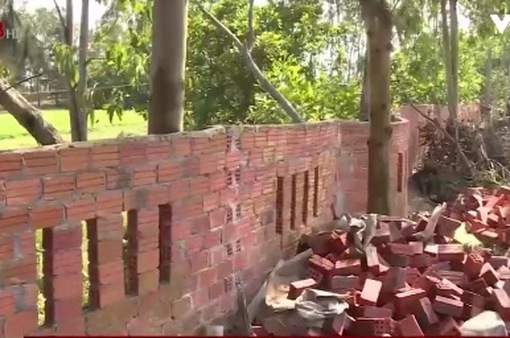 Quảng Nam: Cưỡng chế tháo dỡ nhà xây dựng trái phép để chờ tiền đền bù