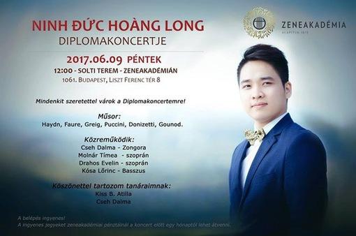 Nghệ sĩ trẻ Việt Nam vào vai diễn opera trên sân khấu Hungary