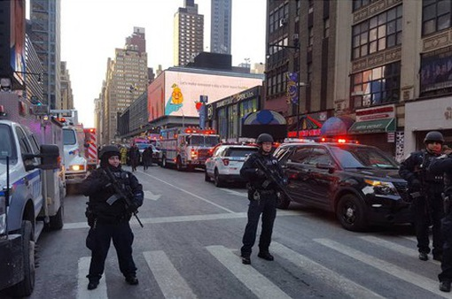 Nổ gần Quảng trường Thời đại (Mỹ): Bắt giữ 1 nghi phạm
