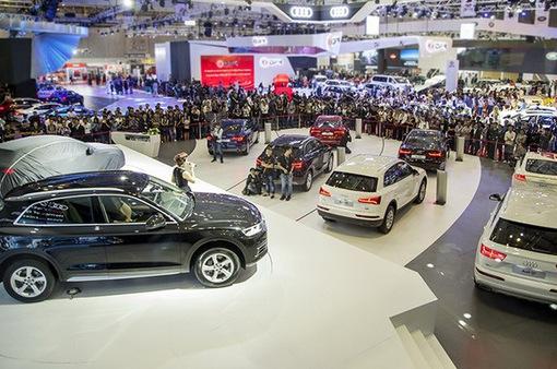 Sức tiêu thụ toàn thị trường ô tô năm 2017 khó cso thể đạt như dự báo