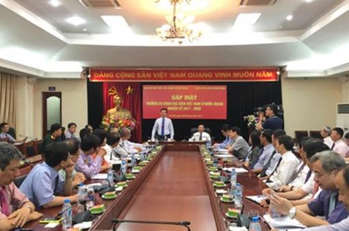 Ông Võ Văn Thưởng gặp mặt trưởng cơ quan đại diện Việt Nam ở nước ngoài