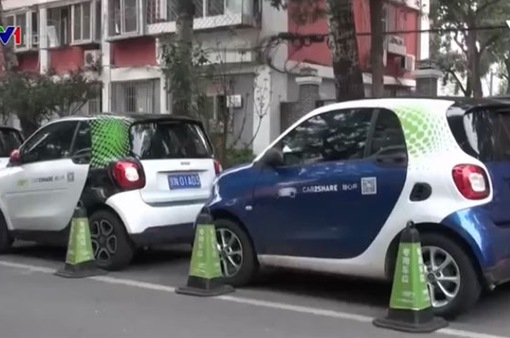 Nở rộ dịch vụ cho thuê xe ô tô điện dùng chung