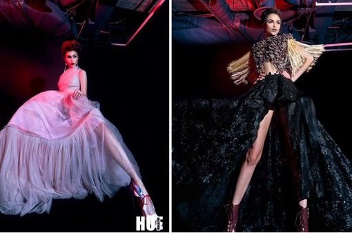 Người đẹp Top Model khoe chân dài miên man với trang phục cổ điển